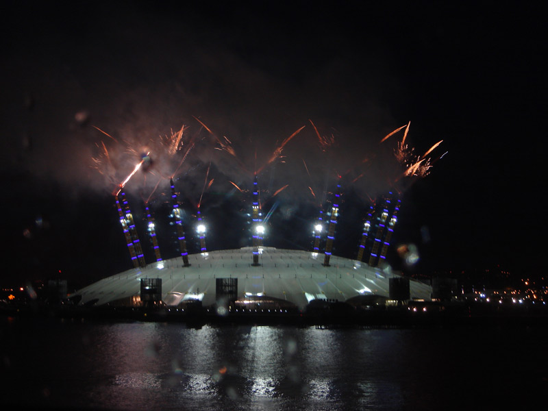 TheO2-Fireworks