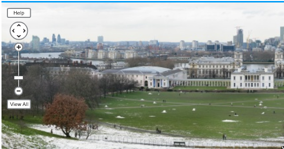 GigaPan View from Greenwich